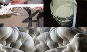 Пенообразователь для пенобетона, применение смеси, виды, преимущества использования в  строительстве