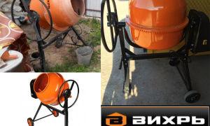 Бетономешалка БМ 120, характеристики, описание