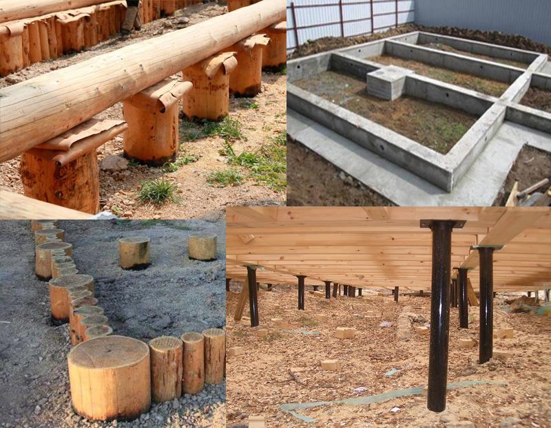 Все что можно знать про деревянный фундамент под деревянный дом